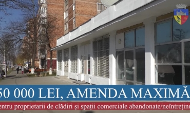 AMENZI PENTRU CLĂDIRI / SPAȚII  COMERCIALE NEUTILIZATE
