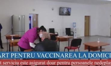 START PENTRU VACCINAREA LA DOMICILIU!
