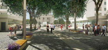 Încep lucrările de modernizare a centrului Hunedoarei